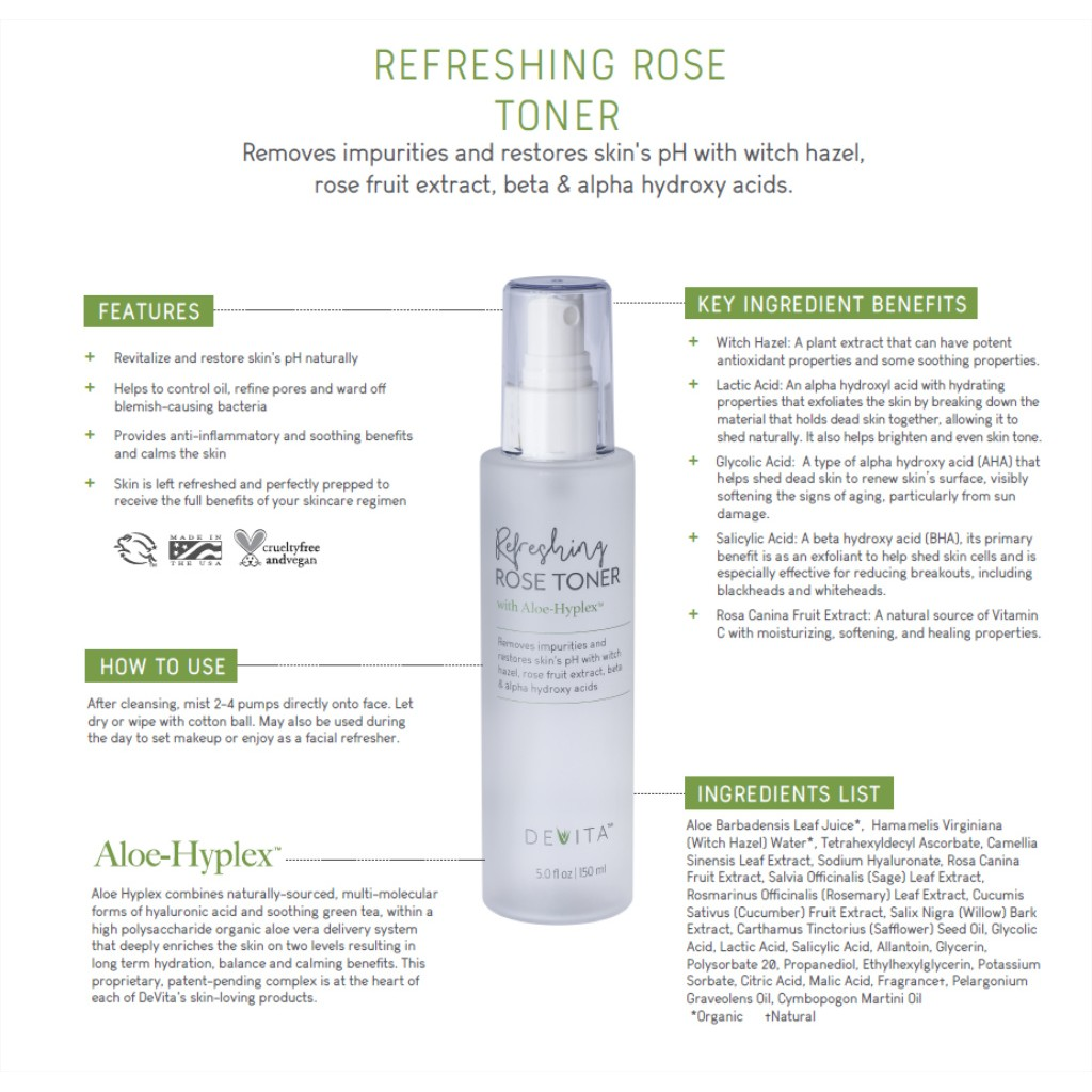 Refreshing Rose Toner